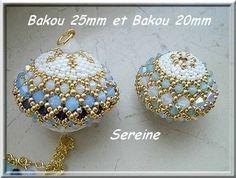 un tuto pour deux tailles de boules: 20mm et 25mm . Merci à Sereine pour son partage.