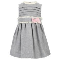 $65 Mayoral Grey sleeveless pinafore dress. This store is awesome.