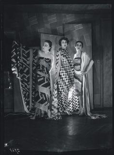 Simultaneous Dresses (Three women, Forms, Colours) 1925