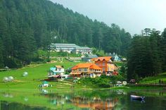 Mini Switzerland Of India, Khajjiar, Himachal Pradesh -Khajjiar, often called as India's Switzerland, is a hill station in Chamba District of Himachal Pradesh, India. Khajjiar sits on a small plateau with a small stream-fed lake in the middle that has been covered over with weeds. The hill station is surrounded by green meadows and dense forests. It is about 6,500 feet (2,000 m) above sea level in the foothills of the Dhauladhar ranges of the Western Himalayas.