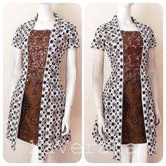 """575 Likes, 14 Comments - Kebaya &Dress By @asti.atmodjo (@xaverana) on Instagram: """"LONG KEBAYA DAN ROK SPAN DIJUAL TERPISAH ❌LONG KEBAYA SOLD❌ HARGA 388.000 ✅Bahan batik katun…"""""""