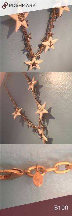 "Nautical Star Necklace Very cute for a sailor or mermaid theme! Never worn, no bag, but no damage! Over 18"" long Tarina Tarantino Jewelry Necklaces"