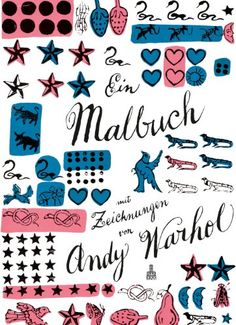 Ein Malbuch mit Zeichnungen von Andy Warhol: Amazon.de: Andy Warhol: Bücher