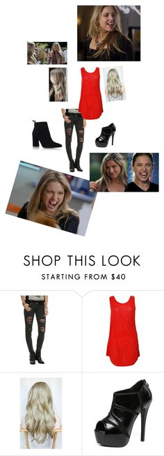"""""""Erica from my babysitters a vampire"""" by hwdoglover ❤ liked on Polyvore featuring Paul Smith, WithChic and Stuart Weitzman"""