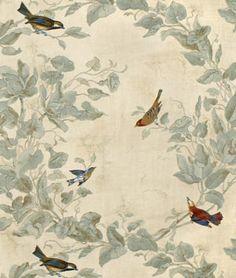 Heritage House Windsong Ivory Fabric