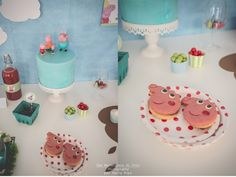 Party Pops - Peppa Pig Theme Party http://partypopsblog.wordpress.com/2014/04/24/party-pops-festa-a-tema-peppa-pig/