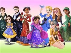 Real Life female role models turned into Disney Princesses. I particularly like the Anne Frank princess.