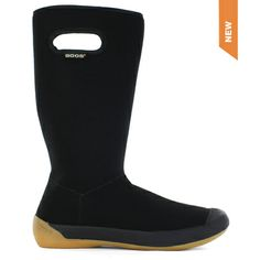 The Summit Women by Bogs Footwear. The new Bogs® Summit is the ultimate casual boot for women. Crafted from super-soft, 100�0waterproof fabric with plush lining for extra warmth. The Summit features 2mm of Neo-TechTM insulation, a dual-density, contoured EVA insole with DuraFresh anti-odor   protection and molded rubber outsole. These machine-washable boots are comfort rated from temperate to 14°F/-10°C for chilly fall and winter wear and fold down easily for warmer days and travel.