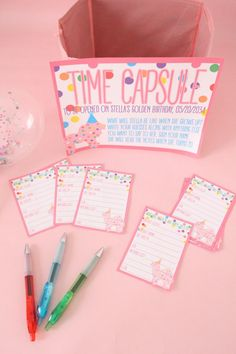 Time capsule birthday party pack printable party game first birthday party circus animal cookie them - Ideas of Teagan Baby Name - Time capsule birthday party pack printable party game first Birthday Party Games Indoor, First Birthday Activities, Birthday Party Games For Kids, Baby First Birthday, First Birthday Parties, Birthday Ideas, First Birthday Traditions, Golden Birthday, Sleepover Party
