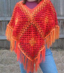 Crochet Pattern: Painted Desert Poncho
