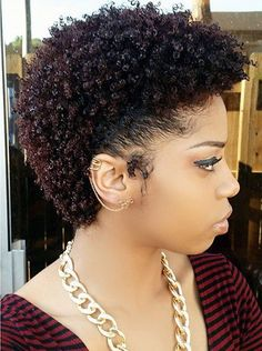 short+kinky+hairstyle+for+natural+hair