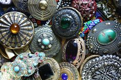 "~ Coat Button Collection ~ Happy to Say That I Have a Few of These and Many Others - I Am ""Button Blessed"""