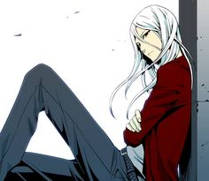 He looks like Seira's man version... Awwwhhh.... (Noblesse)