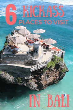Trip Deals - 6 Kickass Places to Visit in Bali - Travel Lus. Trip Deals - 6 Kickass Places to Visit in Bali - Travel Lush Vacation Destinations, Dream Vacations, Vacation Spots, Vacation Places, Bali Travel Guide, Asia Travel, Travel Trip, Ubud, Bali Indonesia