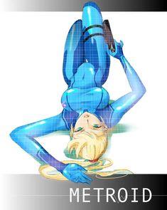 Samus Aran, Metroid series artwork by Gurio Go Go. Samus Aran, Metroid Samus, Metroid Prime, Super Smash Bros, Game Character, Character Concept, Zero Suit Samus, Super Metroid, Cartoon Video Games