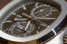 Patek Philippe Nautilus Travel Time Chronograph - Baselworld 2014  http://www.luxify.de/patek-philippe-nautilus-travel-time-chronograph-5990-1a-001/