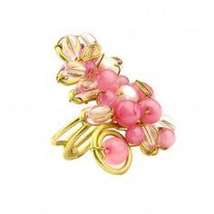 Pink Jade Ring: $25
