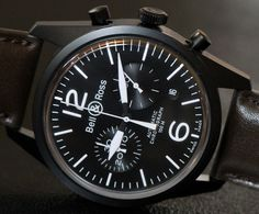 Bell & Ross Vintage Original - The classic pilot's time piece.