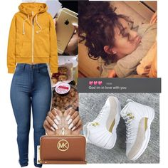 A fashion look from July 2016 featuring H&M jackets and MICHAEL Michael Kors wallets. Browse and shop related looks.