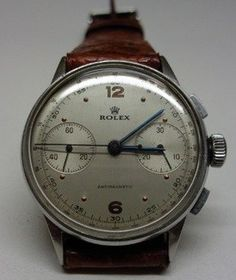 Rolex Chronograph, SUITABLE FOR: Making it to the Corteo Storico on time, NOT SUITABLE FOR: Assuming the trains will run on schedule