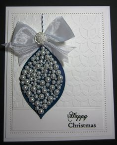 PartiCraft (Participate In Craft): Pearly Bauble how to