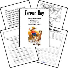 Free Farmer Boy Unit Study (156-Pages!)