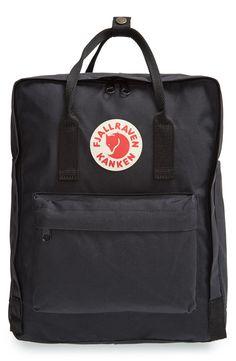 Fjällräven black backpack