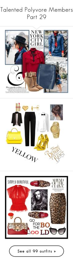 """""""❤Talented Polyvore Members❤ Part 29"""" by l33l ❤ liked on Polyvore featuring H&M, WithChic, 10 Crosby Derek Lam, Puma, Alberta Ferretti, Anthony Vaccarello, Dolce&Gabbana, Hermès, Michael Kors and Yves Saint Laurent"""