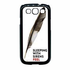 Band Doodle Kellin Quinn Sleeping With Sirens Samsung Galaxy S3 Case