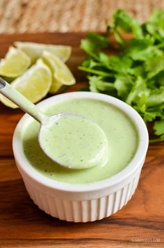 Slimming Eats Syn Free Cilantro Lime Dressing - gluten free, vegetarian, Slimming World and Weight Watchers friendly Slimming World Salad Dressing, Slimming World Salads, Slimming World Meal Prep, Slimming World Vegetarian Recipes, Slimming Eats, Slimming Recipes, Mint Salad, Best Comfort Food, Comfort Foods