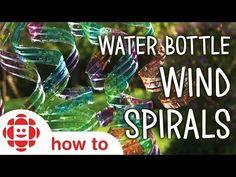 Water Bottle Wind Spirals | Play