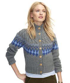 81425e6343  LLBean  Signature Monroe Wool Cardigan Sweater