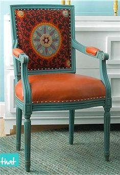 Orange and Turquoise - i love this color combo.. slowly taking over my life!