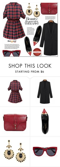 """""""Banggood #15"""" by cherry-bh ❤ liked on Polyvore featuring Yves Saint Laurent, Dolce&Gabbana, Garance Doré, vintage and BangGood"""
