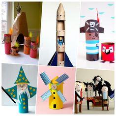 Manualidades infantiles con rollos wc ¡10 Ideas fáciles y super vistosas!