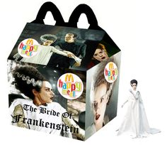 """The Bride of Frankenstein"" Happy Meal"