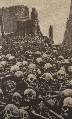 The Valley of Dry Bones by Barry Moser
