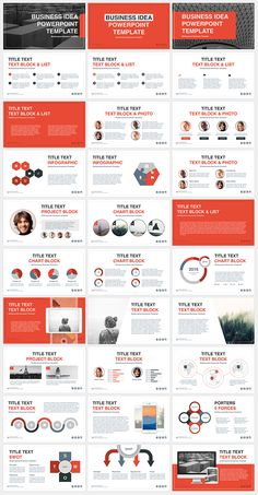 Business Idea Free PowerPoint Template. Huge base of free PowerPoint presentations for business, marketing, education. Regular updates, free support.