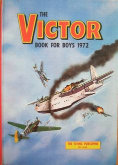 Comics UK is dedicated to those great institutions, the British Comic and Story Paper dating back from the the late Victorian era through Beano to and beyond. Vintage Toys 1970s, Vintage Books, Comic Book Covers, Comic Books, War Comics, Comics Uk, Morning Cartoon, Books For Boys, Childrens Books