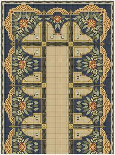Gallery.ru / Фото #154 - 5555 - ergoxeiro Cross Stitch Borders, Cross Stitch Designs, Cross Stitching, Cross Stitch Patterns, Diy Embroidery, Cross Stitch Embroidery, Tapestry Crochet, Needlepoint, Needlework