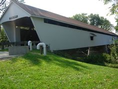 Potter's Covered Bridge in Hamilton County, Indiana.