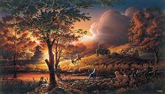 Terry Redlin - Such Beautiful Detailed Artwork - Really Tells a Story