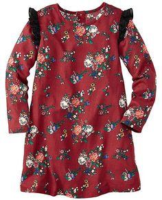 Challis Rose Dress | Girls Dresses