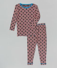 Stone Lattice Pajama Set
