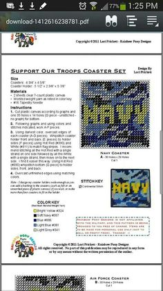 Support our troops coaster