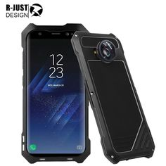 aa1bb1a15fc For Samsung Galaxy S8 Plus Case Cover R JUST Original Armor Metal Aluminum  Shockproof 2in1 Micro Lens for Samsung S8 Case Capa-in Fitted Cases from ...
