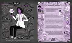 Patricia Bath in Women in Science is one of the 50 Fearless Pioneers