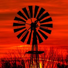 Windmill Dawn by Kenneth Keifer on 500px