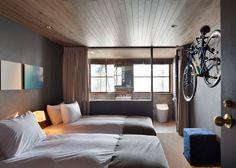 Hotel Cycle. A #Hiroshima, in #Giappone, c'è un #hotel di #lusso per amanti della #bicicletta.