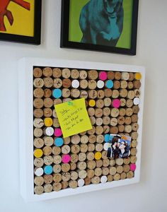 10 ideas para hacer con corcho Ideas you can do with used corks Easy Crafts, Easy Diy, Clever Diy, Cork Art, Crosses Decor, Wine Cork Crafts, Diy Bottle, Diy Candles, Bottle Candles